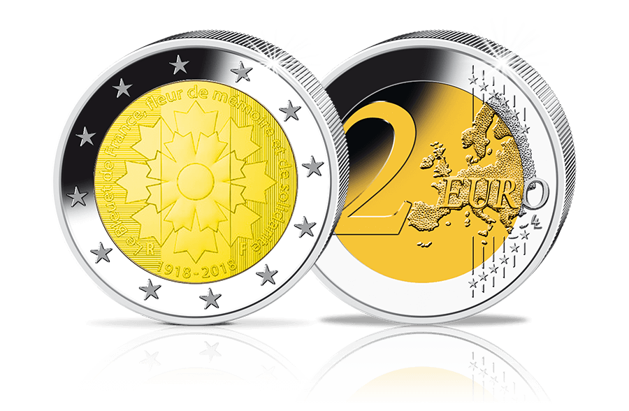 2 Euro Gedenkmünzen Europa Btn Münzen Online Kaufen