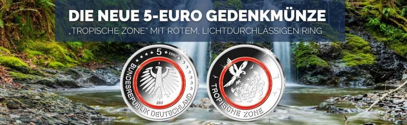 5 Euro 2017 Btn Münzen Online Kaufen