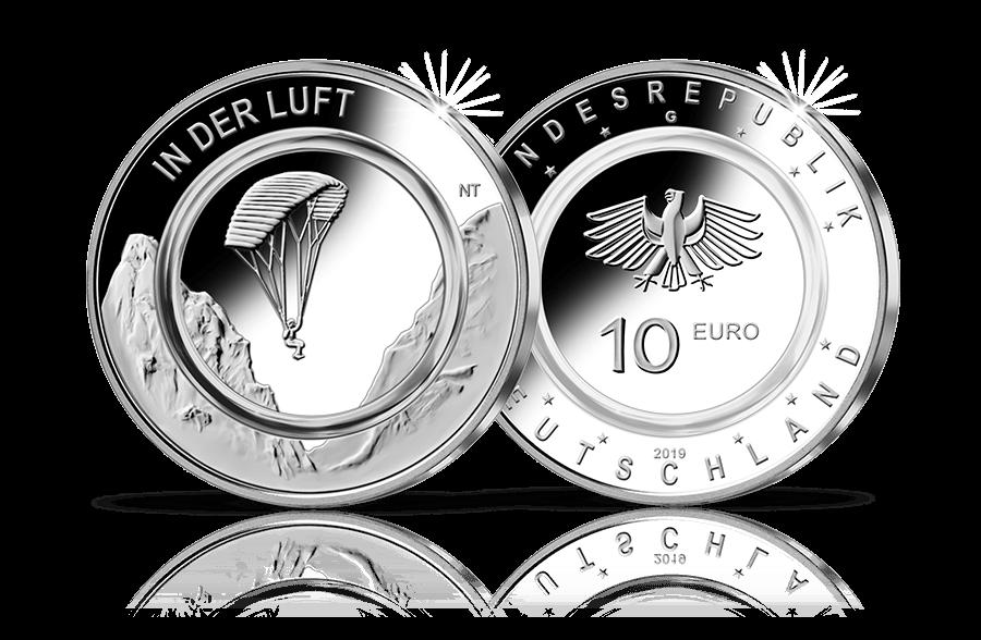 10 Euro Münze 2019 In Der Luft Btn Münzen Online Kaufen