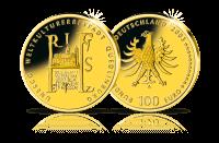 Münzen Unesco Welterbe Quedlinburg