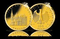 Münzen Unesco Welterbe Aachen
