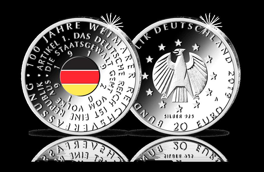 20 Euro Münze 100 Jahre Frauenwahlrecht 2019 Btn Münzen Online
