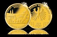 Münzen Unesco Welterbe Goslar