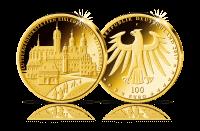 Münzen Unesco Welterbe Eisleben und Wittenberg