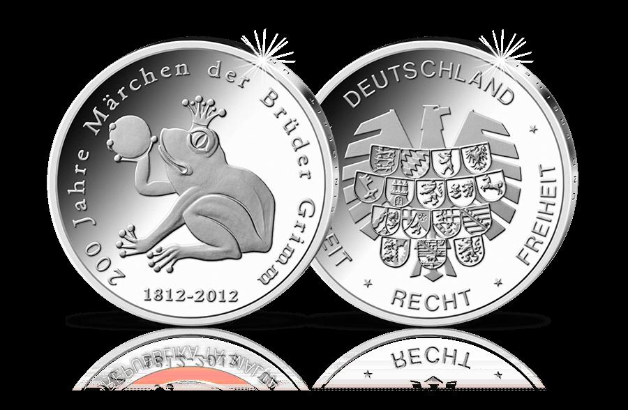 Gedenkausgabe 200 Jahre Märchen Der Brüder Grimm Btn Münzen