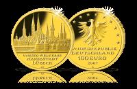 Münzen Unesco Lübeck